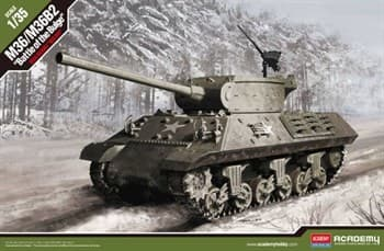 "Танк  M36/M36b2 Us Army   ""bATTLE Of The Bulge""  (1:35)"