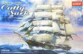 Корабль  Clipper Ship Cutty Sark  (1:350)