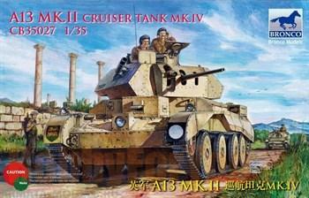 Танк  A13 Mk.II Cruiser Tank Mk.IV (1:35)