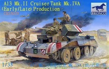 Танк  A13 Mk.II Cruiser Tank Mk.IVA (Early/Late) Production (1:35)