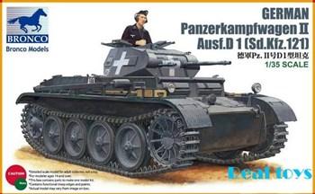 Танк  German Panzerkampfwagen II Ausf.D1 (Sd.Kfz.121) (1:35)