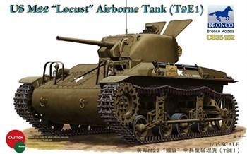 Танк  US M22 Locust Airborne Tank (T9E1) (1:35)