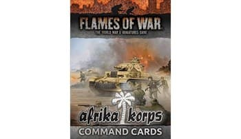 Afrika Corps Command Cards (34 cards)