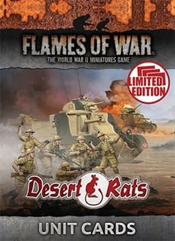 Desert Rats Unit Cards