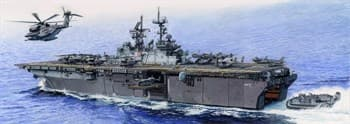 Корабль USS Iwo Jima LHD-7  (1:350)