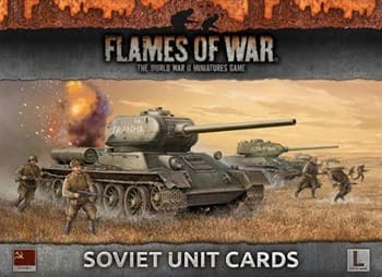LATE WAR Soviet Unit Cards