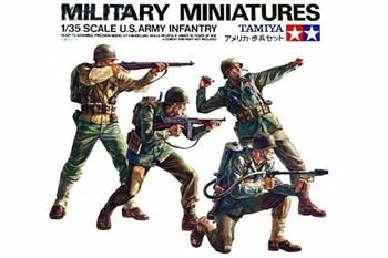 Американские пехотинцы (Западно-европ.) 4 фигуры