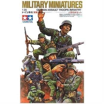 Немецкие пехотинцы в атаке, 8 фигур
