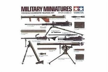 Набор вооружения американских солдат