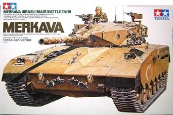 Израильский танк Merkava с 105-мм пушкой и 1 фигурой танкиста