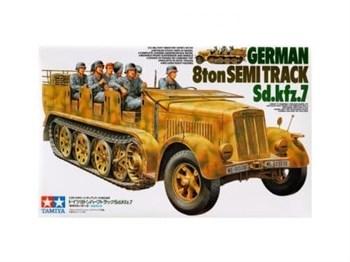 Немецкий восьмитонный полугусеничный тягач Sd.kfz.7.Ограниченный выпуск!!!