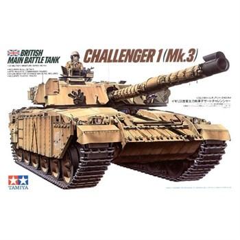 Англ. танк CHALLENGER 1 (Mk.3) с 2 фигурами