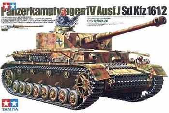 Танк Panzerkampfwagen IV Ausf.J с 1 фигурой танкиста