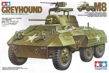 Американский БТР М8 Greyhound, с одной фигурой
