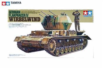 4-ствольная самоходная 20-мм зенитная установка FLAKPANZER-IV WIRBELWIND с 4 фигурами