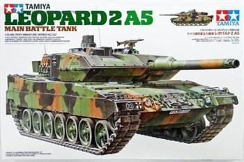 Танк Leopard 2 A5 с 1 фигурой