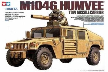 Хаммер с противотанковой ракетной установкой и 2 фигурами (M1046 Humvee TOW Missile Carrier)