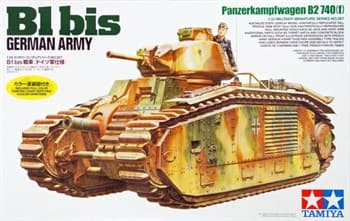 1/35 Танк В1 bis (нем.армия)