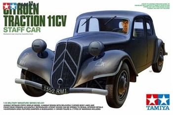 Ситроен 11CV, с фигурой водителя. В комплекте 2-немецкие, 1-французская и 1-гражданская маркировки.