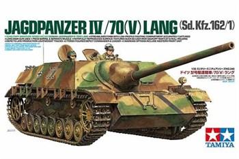 Немецкое самоходное орудие Jagdpanzer IV/70(V)Lang. Две фигуры экипажа.
