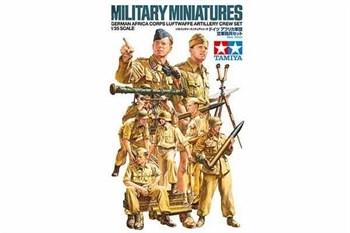 Немецкие артиллеристы, африканский корпус. 8 фигур. НОВИНКА!!!