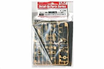 Металлический ствол для модели 35345 Panther Type D, в набор входят также пластиковые части затвора, прицела и другие.
