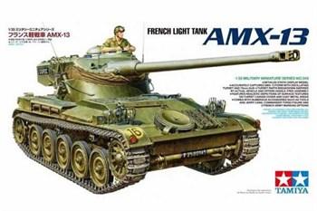 Французский легкий танк AMX-13, с фигурой командира. НОВИНКА!!!