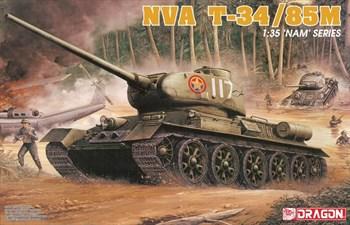 Танк Nva T-34/85m