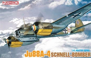 Самолет Ju88a-4 Schnell Bomber