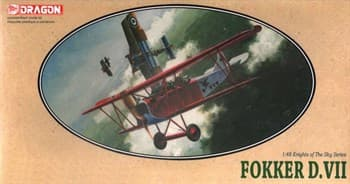 Самолет Fokker D. Vii
