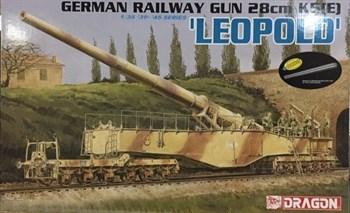 Пушка Ger.Railway Gun Leopold