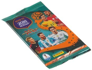 Бустер карточек Panini Road to 2018 FIFA World Cup Russia