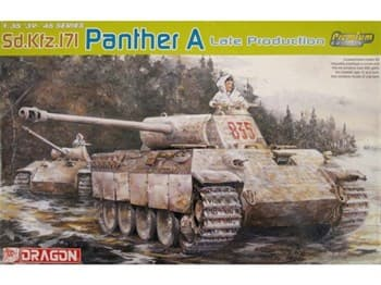 Танк Panther A Late Rpoduction (PREMIUM Edition)