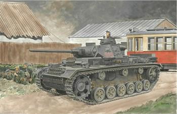 Танк Pz.Kpfw.Iii Ausf.J (2 In 1) (SMART Kit)