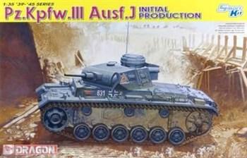 Танк Pz. Kpfw.Iii Ausf.J Initial Prod.