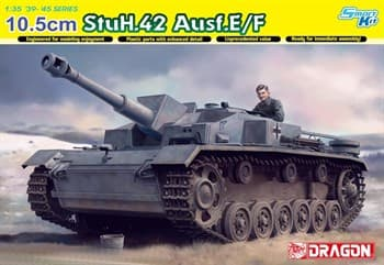 Самоходка 10.5cm Stuh.42 Ausf.E/F