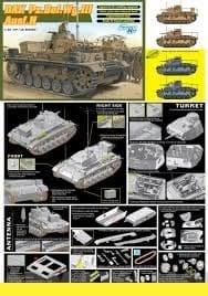 1/35 Танк Dak Pz.Bef.Wg.Lll Ausf.H