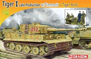 1/72 Танк Tiger I С Циммеритом