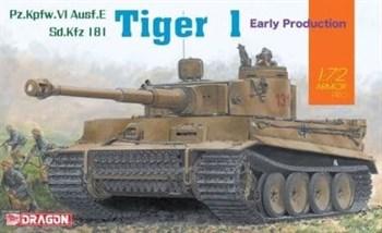 Танк Tiger I Ранний