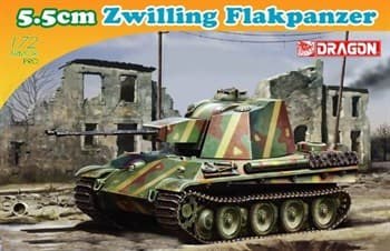 1/72 Танк 5,5см Zwilling Flakpanzer