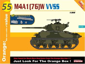 Американский Танк M4a1(76)W Vvss Hull