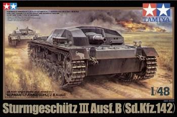 1/48 Самоходное орудие Sturmgeschutz III Ausf.B с коротким стволом, 3 вар-та декалей.