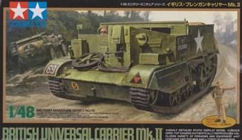 1/48 Англ.универсальная машины пехоты на гусеничн.ходу Universal Carrier Mk.II, 2 фигуры