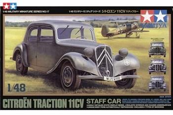 1/48 Машина Citroen Traction 11CV, 4 вар-та декалей (французские и немецкме)
