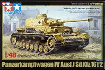 1/48 Танк Panzerkampfwagen IV Ausf. J,  3 вар-та декалей.