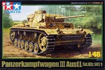 1/48 Танк  PzKpfw. III Ausf. L, 3 вар-та декалей