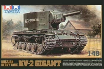 1/48 Сов.танк КВ-2 Gigant