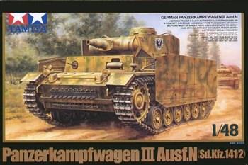 1/48 Танк Pz.Kpfw III Ausf.N, 2 вар-та декалей