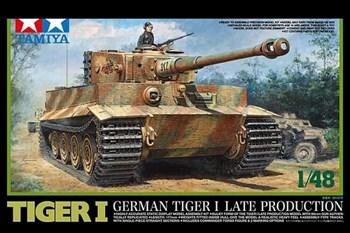1/48 Немецкий танк Tiger I, поздняя версия, с одной фигурой.  Новинка!!!