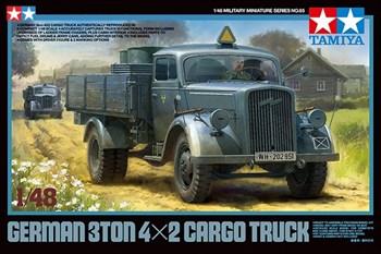 1/48 Немецкий автомобиль 3ton 4x2 Cargo Truck